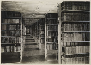 lots of shelves of books