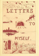 'letters to myself' old faded cover of a magazine